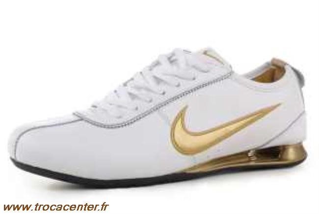 brand new 37b8d b6c12 nike shox rivalry blanc et or